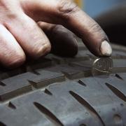 New Tyre Tread Depth